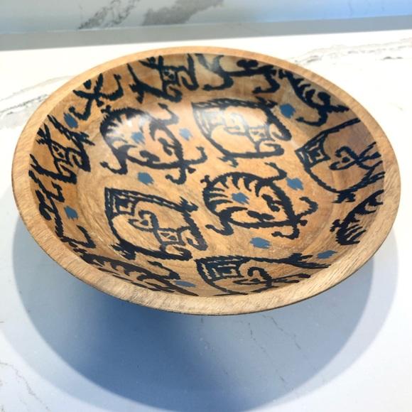 Target Threshold Decorative Wooden Bowl